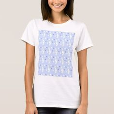 SEAHORSE PATTERN T-Shirt - animal gift ideas animals and pets diy customize