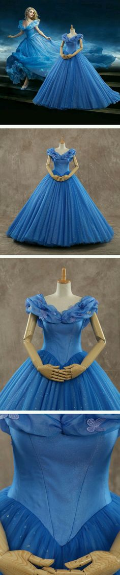 Princess Court Train Tulle Quinceanera Dress – Viktoria W. Princess Court Train Tulle Quinceanera Dress Get Cinderella's dress here! Fulfill your princess dress now! Quince Dresses, 15 Dresses, Pretty Dresses, Cinderella Dresses, Disney Dresses, Cinderella 2015, Princess Dresses, Quinceanera Dresses, Homecoming Dresses