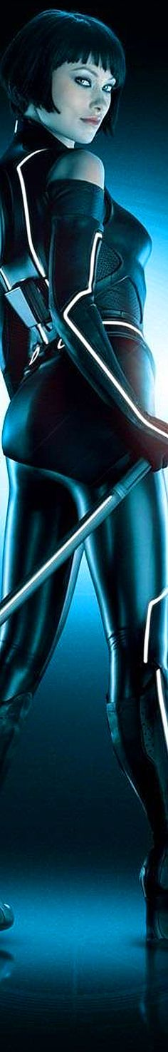 Tron Legacy - Olivia Wilde  Auction your comics on http://www.comicbazaar.co.uk