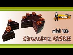 how to: miniature chocolate cake
