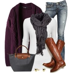 A fashion look from November 2014 featuring True Religion jeans and C. Wonder earrings. Browse and shop related looks.