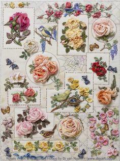 Rose sampler by Di van Niekerk
