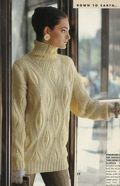 Bark Pullover sweater, by Norah Gaughan.  Stunning.