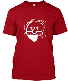 Funny April Fool s Day T Shirts Deep Red T-Shirt Front Real Women 4bbf164bd