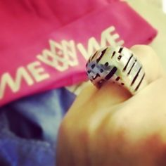 mewestyle's photo on Instagram: #lottalarissa'n ihanasti scifi #transit-sormus, #mewepipo by #mewestyle (tietty!)