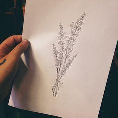 l a v a n d a s  p/ @nathaliaoncken  #ricardogarciatattoo #theinkersclub #botanicaltattoo