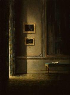 Anne-Françoise Couloumy (French, born 1961) Le salon de l'amateur