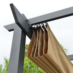 ALEKO?s Pergola Fabric Replacements provide your existing pergola the shade and style it needs. Designed to easily replace the fabric of your 13 x 10 Foot Pergola. While durable, the fabric is also soft and breathable, creating a comfortable outdoor area by allowing air to pass through. Installation is easy with the included reinforced attachment loops on opposite ends of the fabric. Specification: Suitable for ALEKO?s 13 x 10 Foot Pergolas Durable and breathable, blocking harmful UV Rays Materi Deck Shade, Pergola Shade, Outdoor Shade, Shade For Patio, Pool Shade, Backyard Shade, Balcony Shade, Shade House, Gazebo Pergola