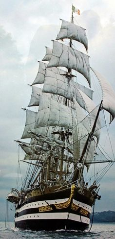 Want to own your own model of the Tall Ship Amerigo Vespucci?  www.shipmodelsuperstore.com