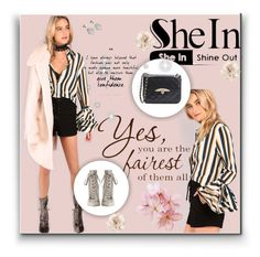 """""""SheIn"""" by evelynn-cole ❤ liked on Polyvore featuring Zimmermann and Cara"""