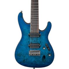 Ibanez S Series S7721pb 7-string Electric Guitar Sapphire Flat - http://www.7stringguitar.org/for-sale/ibanez-s-series-s7721pb-7-string-electric-guitar-sapphire-flat-3/32115/