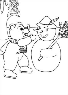ice fishing coloring page school ideas Pinterest Ice