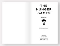 The hunger games freight books blog hunger games pinterest the hunger games book design eric stafford fandeluxe Choice Image