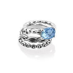 Cool Breeze Season Ring Stack