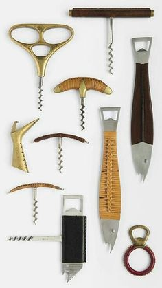 Carl Auböck collection of bottle openers