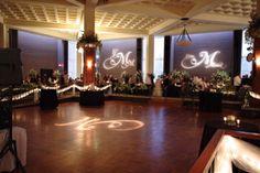 Wedding Receptions - Monogram lighting