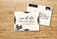 Hey, I found this really awesome Etsy listing at https://www.etsy.com/listing/213334837/masquerade-party-save-the-date