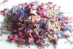 Natural Wedding Confetti | Everything you need to know - Want That Wedding ~
