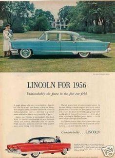 Lincoln Premiere Sedan (1956)