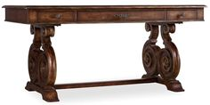 "Adagio 66"" Writing Desk | 5091-10459 | Hooker Furniture Desks from Furnitureland South"