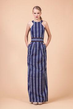 Blueprint dress by Jana Gavalcova