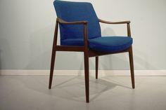 12x Vintage Hartmut Lohmeyer Sessel Chair 60er 60s Teak Danish Mid Century   Antiquitäten & Kunst, Design & Stil, 1950-1959   eBay! Teak, Mid Century Style, Danish, Accent Chairs, Vintage, Design, Furniture, Home Decor, Armchair
