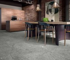 Povedená imitace kamene v šedých barvách PIETRE DI PARAGONE | Keramika Soukup Palette, Marble Effect, Tiles, Flooring, Living Room, Retro, Interior, Furniture, Home Decor