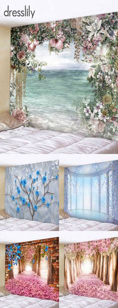 Buy the latest best wall tapestry, wall blankets at cheap prices, and check out our daily updated new arrival best wall tapestry. Blanket On Wall, Wall Blankets, Diy Wall Decor, Art Decor, Decor Ideas, Couleur Or Rose, Room Tapestry, Shabby Chic Pink, Home Wallpaper