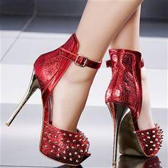 Sandales femme Rouge taille 39, achat en ligne Sandales femme sur MODATOI