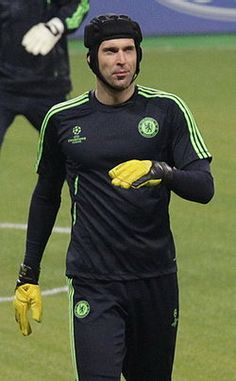 Full name: Petr Čech  Date of birth:	 20 May 1982  Place of birth: Plzeň, Czechoslovakia Height: 1.96 m (6 ft 5 in)  Playing position: Goalkeeper  Current Club: Chelsea