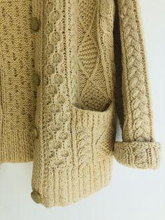 Mens Cable Knit Sweater, Sweater Cardigan, Men Sweater, Fall Capsule, Green Cardigan, Horns, Underarm, Collars, Cardigans