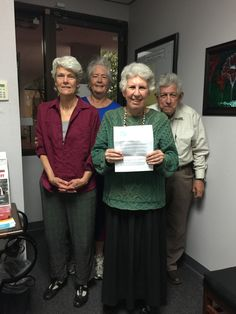 PDA Educate Congress Letter drop by Sheila Gardner, Frank Hill and Robin for Rep. Tony Cardenas CA-29