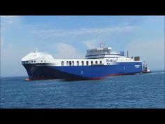 The newly built ferry SEAROAD MERCY 11 seen arriving Cape Town on 22 November 2016 to take on bunkers. The ship was on a delivery voyage from German builders. 22 November, Video Clip, Boat, Ship, Youtube, Travel, Dinghy, Boats, Ships