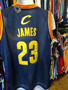 Vtg  23 LEBRON JAMES Cleveland Cavaliers NBA Adidas Authentic Jersey M 43a6d50c0