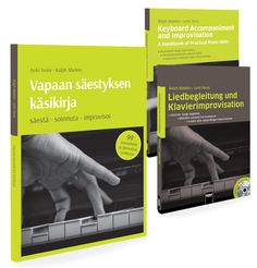 Keyboard Accompaniment and Improvisation in English, German and Finnish. More languages available soon...!