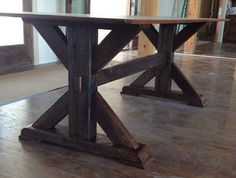 Dining Room Table Made From Reclaimed Barn Wood Local Pickup Only