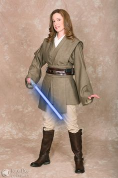 Jedi costume by Kay Dee - I totally need a Jedi costume!                                                                                                                                                                                 More