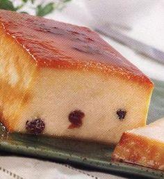 Budín de pan casero y facil | Recetas de Cocina faciles.