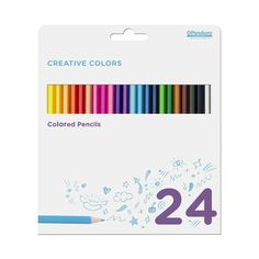 Creative Color 24 farveblyante