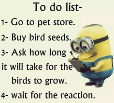 Must do this....To do list~