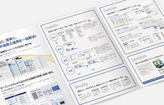 製品パンフレット デザイン実績06|カタログ制作 パンフレット作成PRO