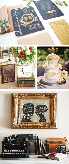 Literature Wedding Inspiration