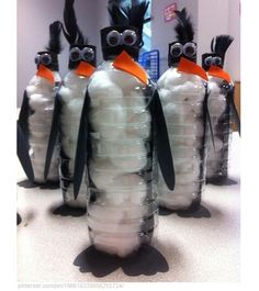 Cute penguin craft..