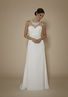 Phil Collins Bridal. Designed exclusively in the UK by leading designer Jennifer Anne Gibbs.