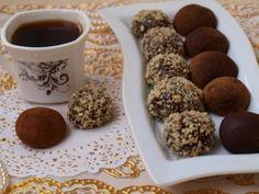 Шоколадные трюфели, рецепт с фото.