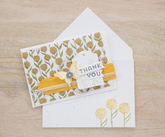Add color to the Sheer Perfection Vellum using Stampin' Write Markers.