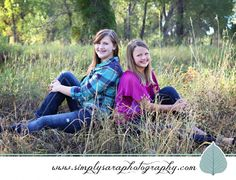 Family Photo Ideas - Sisters