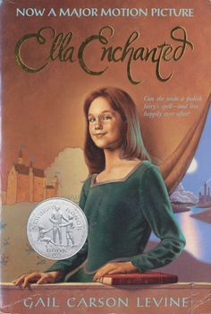 Ella Enchanted by Gail Carson Levine (1997) I enjoyed this book so much and then some of my friends pointed out to me that my feet were unusually tiny for my height. They convinced me that I must be a fairy and it kind of made me love the book even more :)