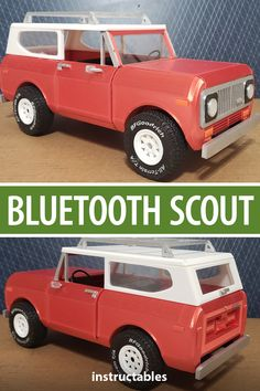 3D printed Bluetooth Scout II model.  #Instructables #electronics #technology #3Dprint #Tinkercad Dremel Idea Builder, Call Of Duty Cakes, Love You Sis, Local Library, Teacher Notes, Rare Earth Magnets, Two Brothers, 3d Projects, Plastic Models