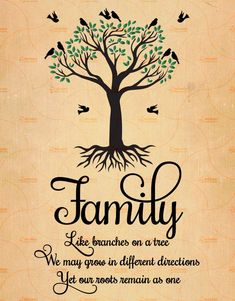 Family tree quotes - Printable Family Like Branches On a Tree, Family Quote, Family Tree Print, 3 Sizes, Like Branches In Family Tree Quotes, Family Tree Print, Quote Family, Family Quotes And Sayings, Family Wuotes, Beautiful Family Quotes, Family Get Together Quotes, Tattoo Quotes About Family, What Is Family Quotes